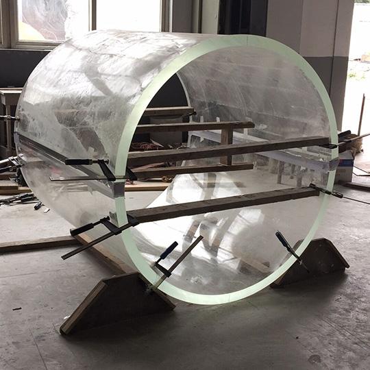 Cilindro de acrilico